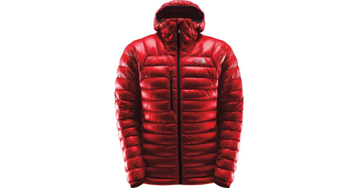 989d47b278cc Lyst - The North Face Summit L3 Proprius Down Hooded Jacket in Red for Men