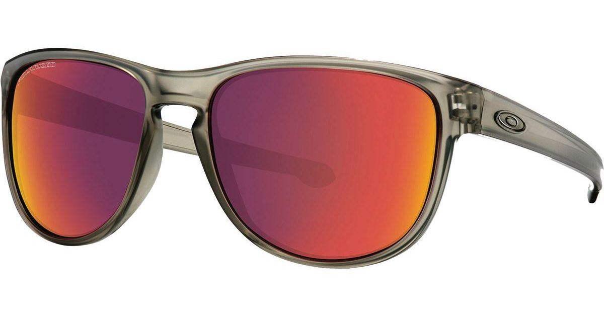 a51b91aaa8a Lyst - Oakley Sliver R Sunglasses - Polarized for Men