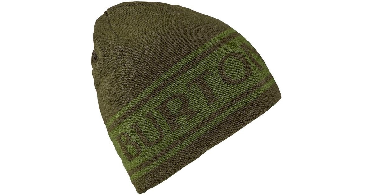 6eb13e789e5 Lyst - Burton Billboard Beanie in Green for Men