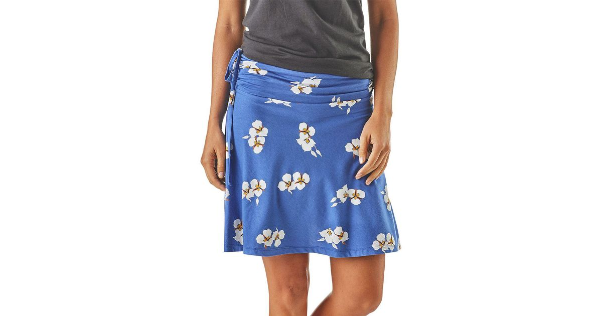ab4ee2f883 Patagonia Lithia Skirt in Blue - Lyst