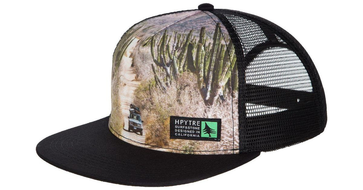 932d5c3c270 Lyst - HippyTree Vagabond Trucker Hat in Black for Men