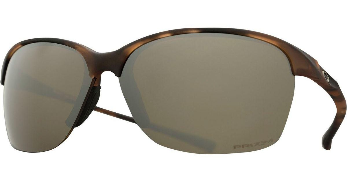 86f11c7869 Lyst - Oakley Unstoppable Prizm Sunglasses - Polarized in Brown