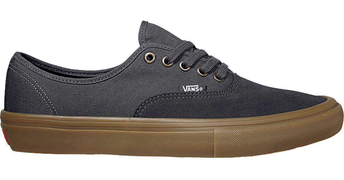 99636466960c7a Lyst - Vans Authentic Pro Skate Shoe in Blue for Men