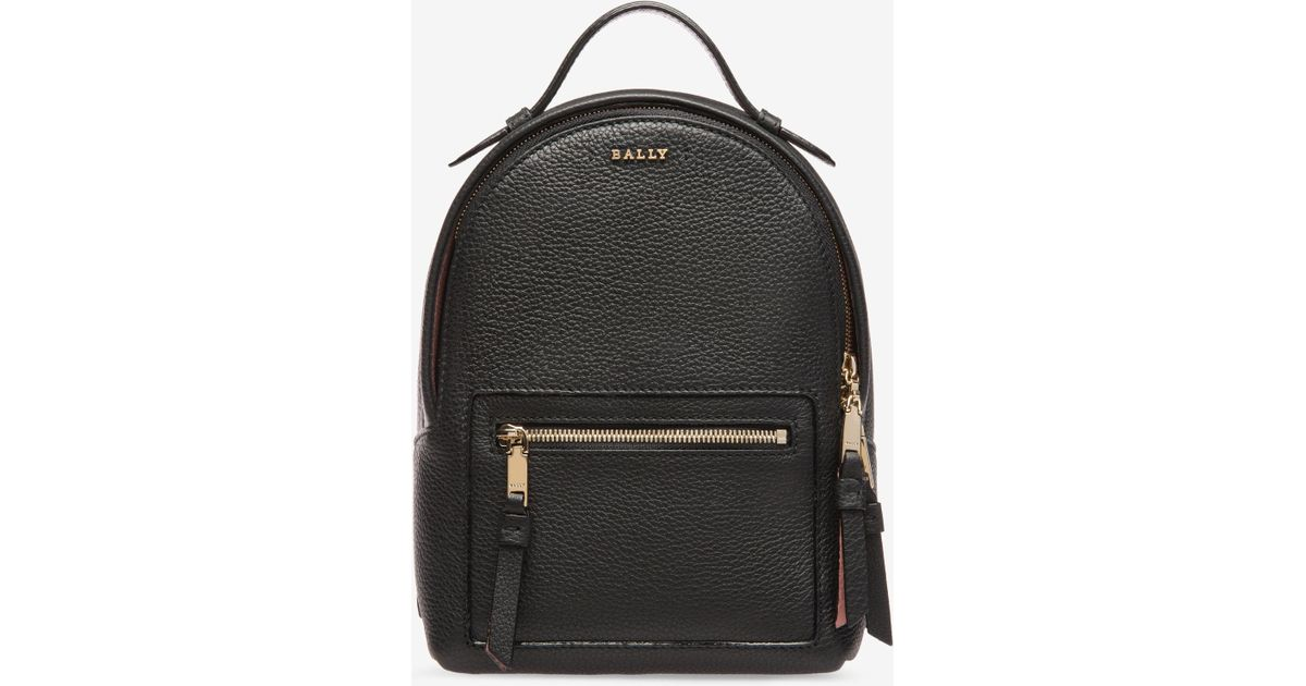 003eee557c Lyst - Bally The Backpack Extra Small in Black