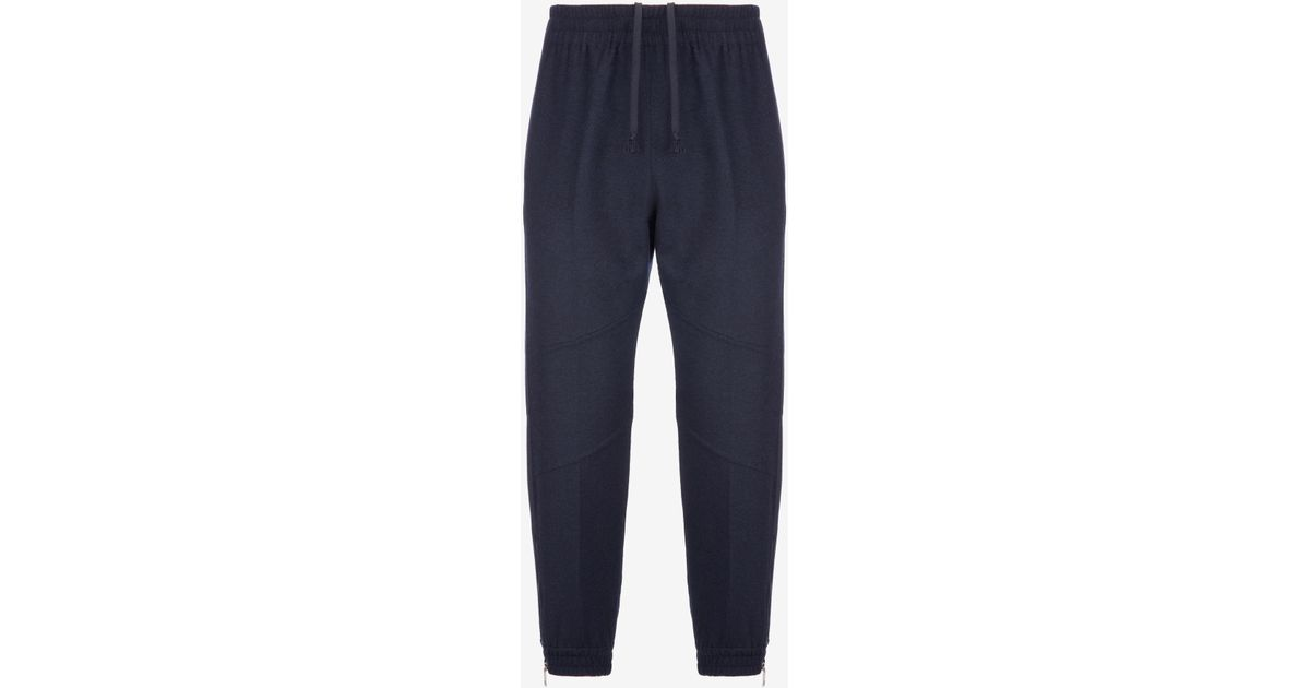 bf2ddde0 Bally Wool Tracksuit Bottoms in Blue for Men - Lyst