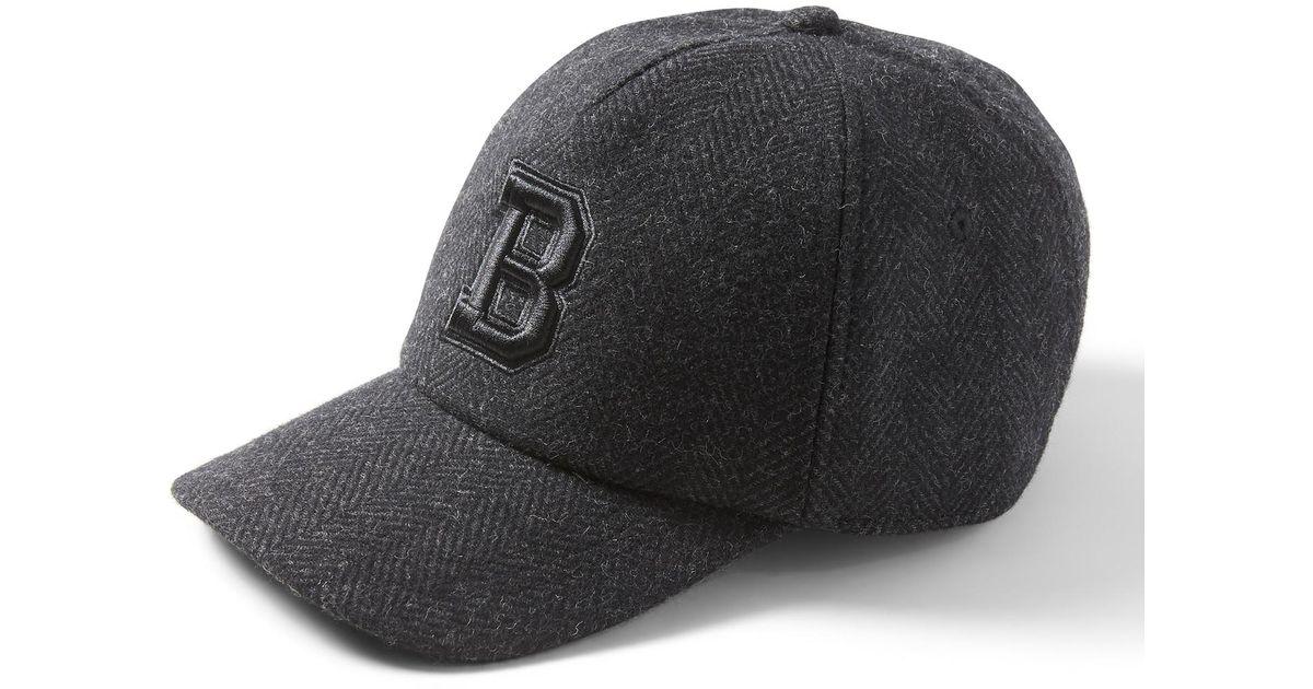 624d8791bbe Lyst - Banana Republic Herringbone Baseball Cap in Gray for Men