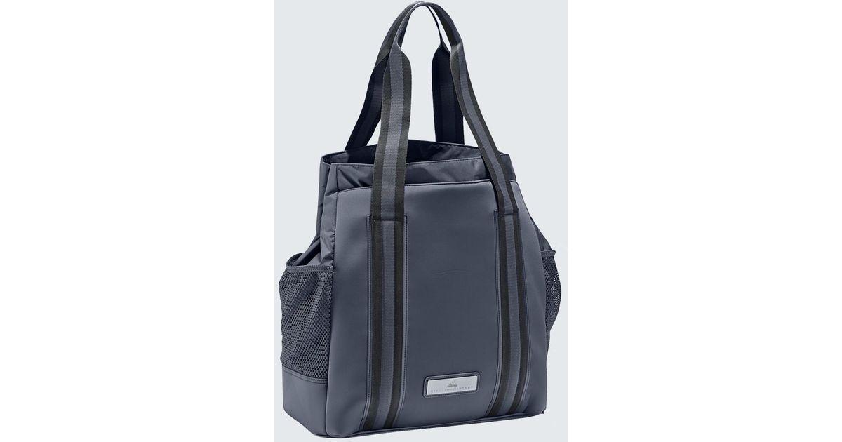 8b7868b51ca0c adidas By Stella McCartney Tennis Bag in Blue - Lyst