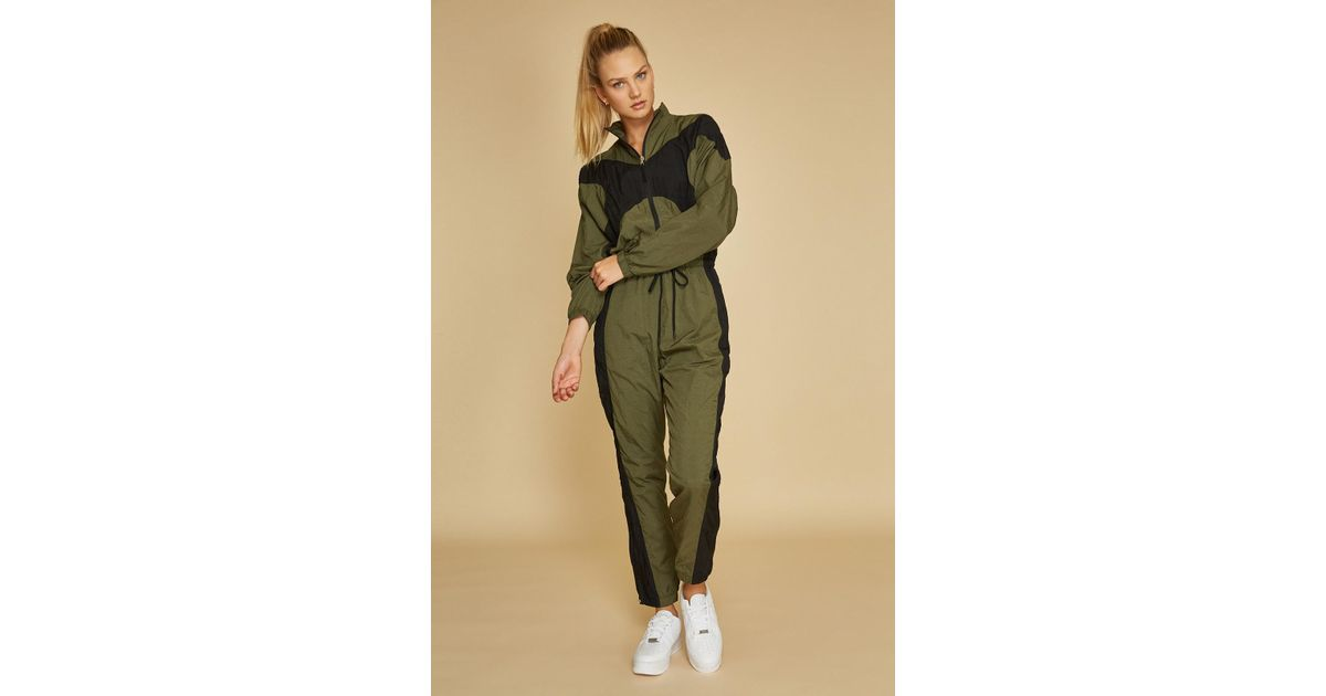 21e89355104a Lyst - Nike Nrg Jumpsuit in Green