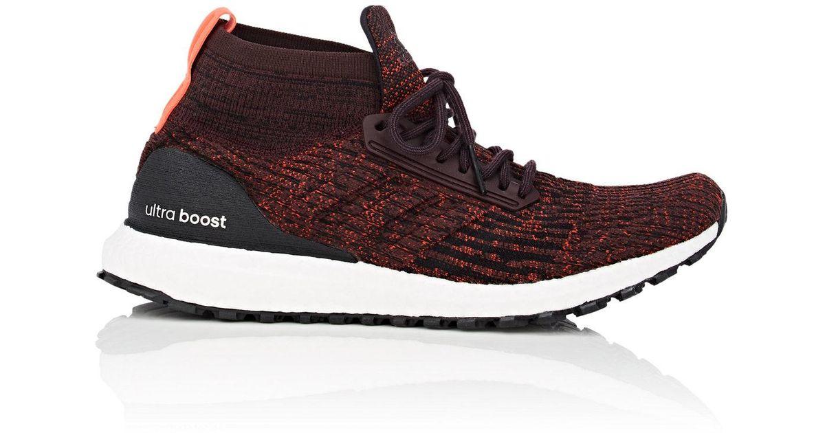 abd2cf2e7018d adidas Ultraboost All Terrain Sneakers in Red for Men - Lyst