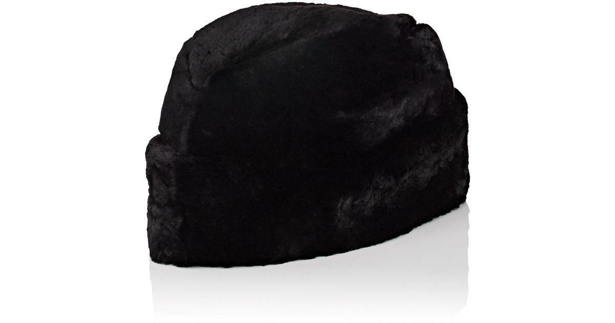 7994a7fcd74cd Lyst - Crown Cap Fur Envoy Hat in Black for Men