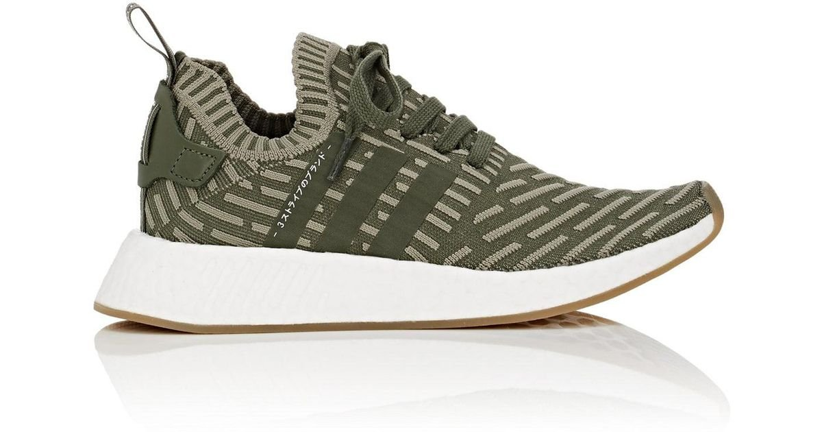 new concept 8b843 d6533 Adidas - Green Nmd R2 Primeknit Sneakers for Men - Lyst
