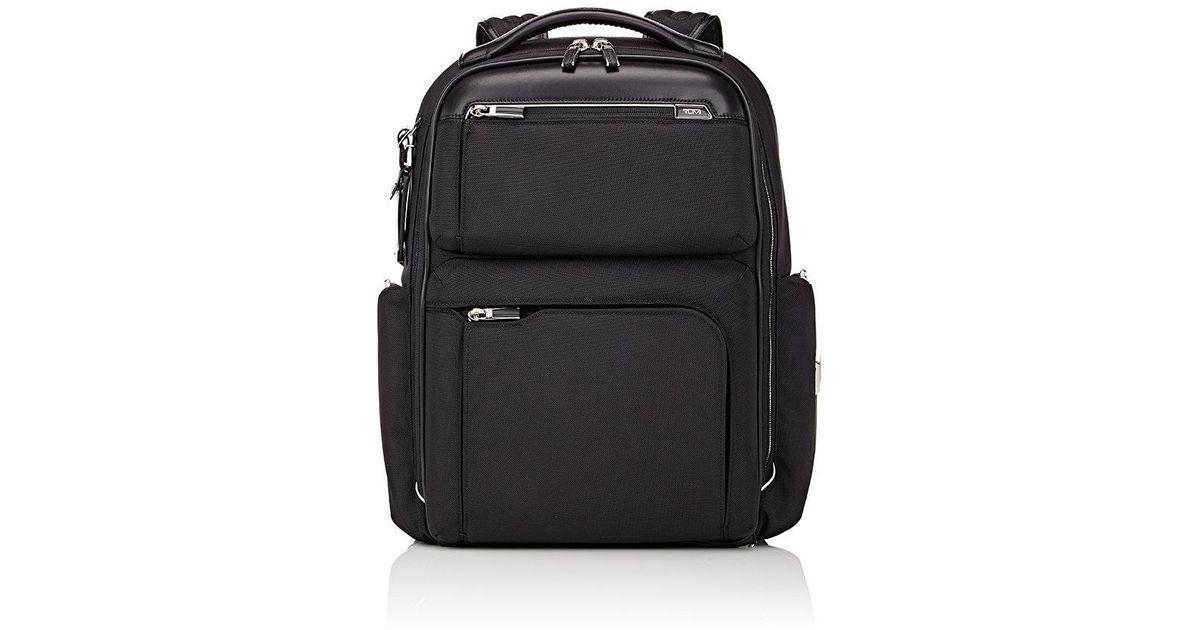 Lyst - Tumi Bradley Backpack in Black for Men 31e0e66420