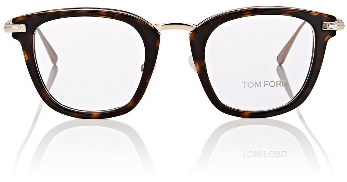 6ccb112721 Tom Ford Tf5496 Eyeglasses in Brown for Men - Lyst