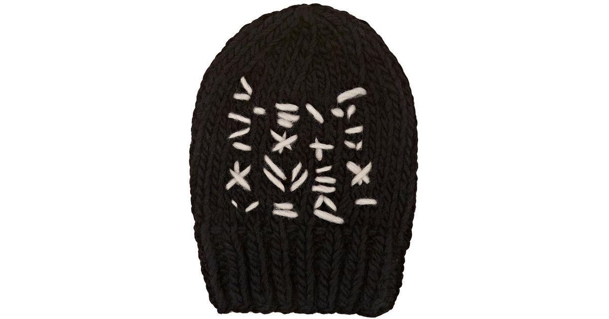 Womens Ricamo Wool Beanie Albertus Swanepoel tQhI7h0