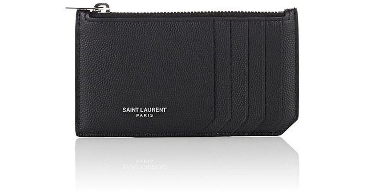 85759b30f86a Lyst - Saint Laurent Top-zip Pouch in Black for Men