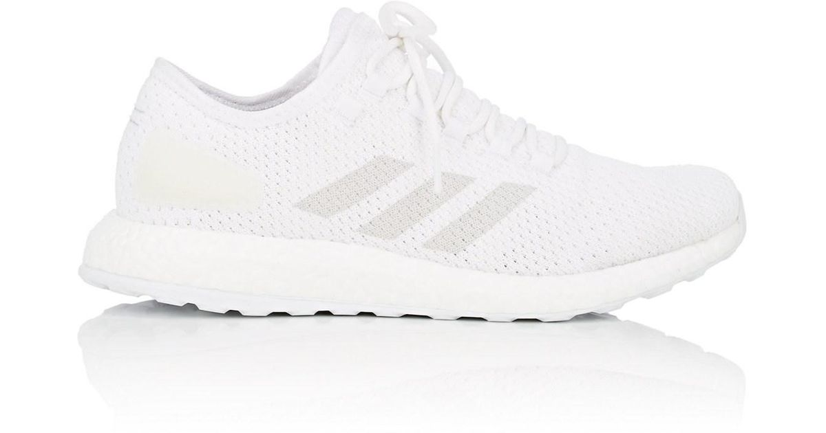 32fdb6a37 adidas Pureboost Clima Sneakers in White for Men - Lyst