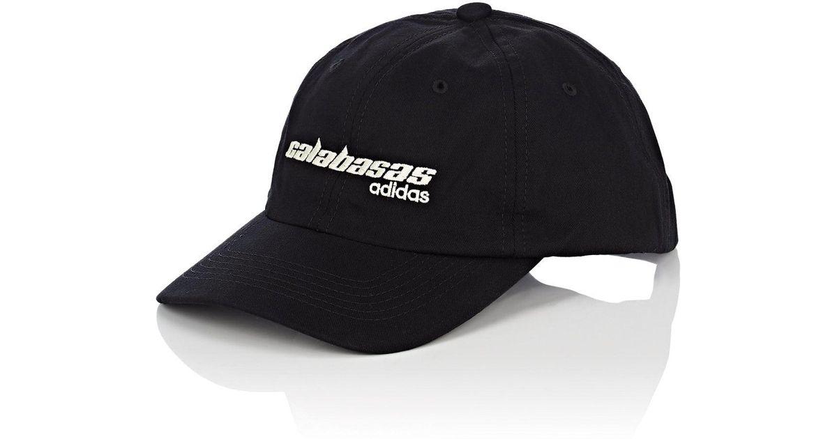 Lyst - Yeezy calabasas Adidas Cotton Baseball Cap in Black for Men db9e344a8ce