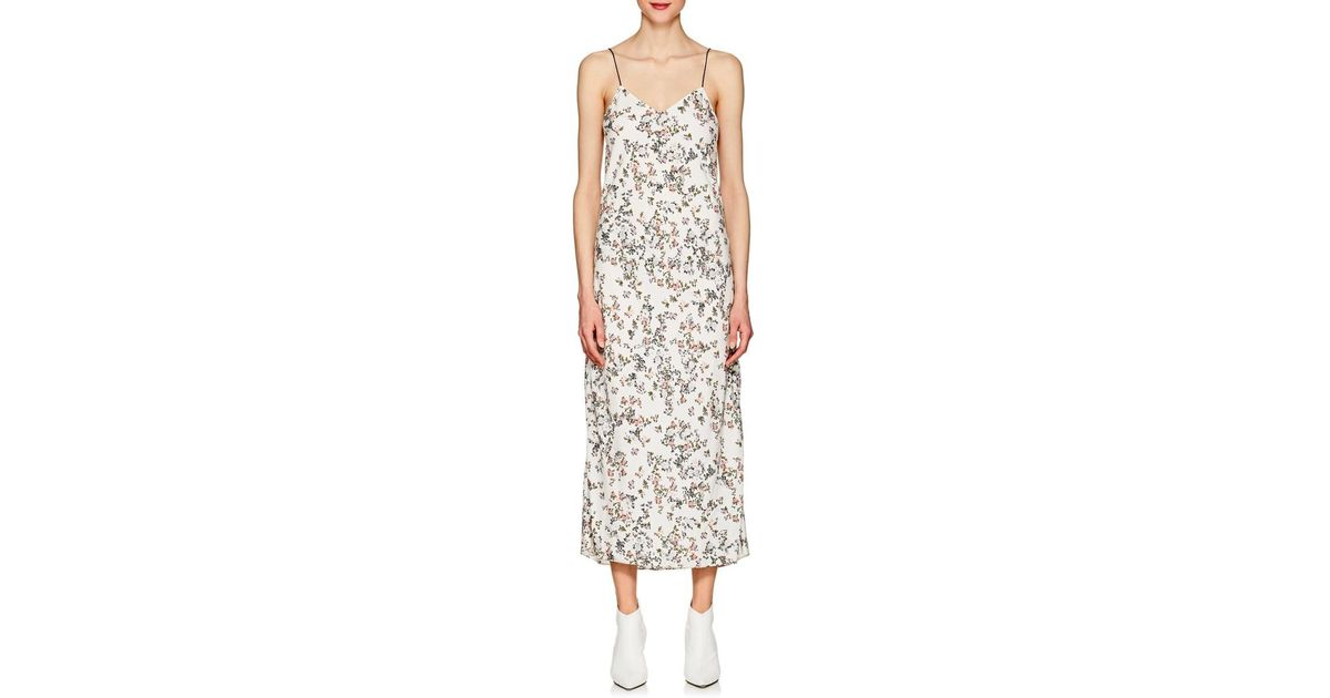 5fdab9fc57c7c Rag & Bone Astrid Slip Dress in White - Lyst