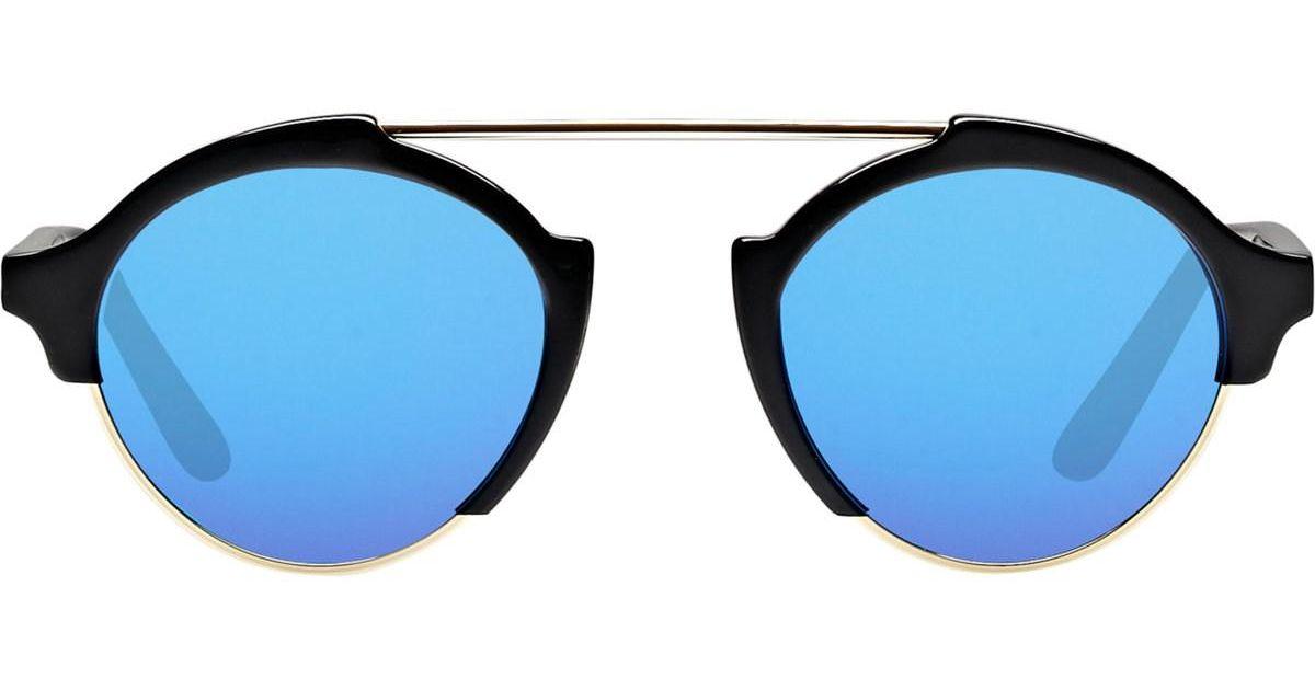 886c32cd81 Lyst - Illesteva Milan Iv Sunglasses in Blue