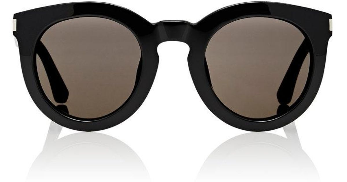 ab361477eb7 Lyst - Saint Laurent Sl 102 Surf Sunglasses in Black