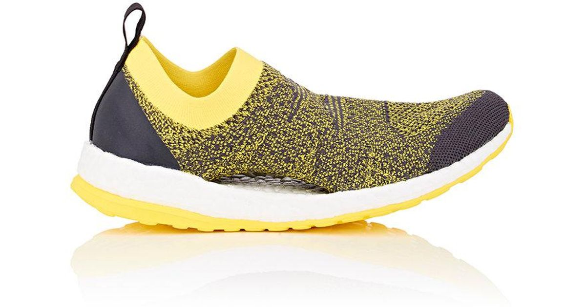 9d5b60ffc9257 adidas By Stella McCartney Pure Boost X Slip-on Sneakers in Yellow - Lyst