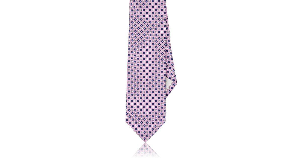 Mens Vérifié Cravate En Soie Texturé Paolo Albizzati jwTuQ0WgYB