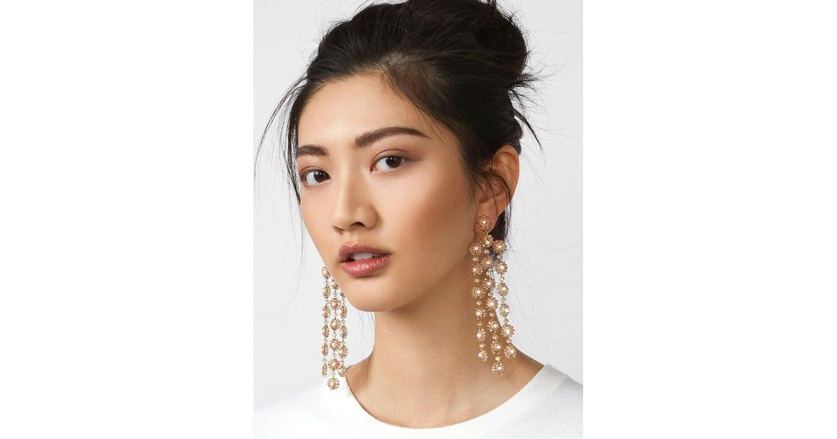 BaubleBar Shiori Flower Drop Earrings MXIQRriK