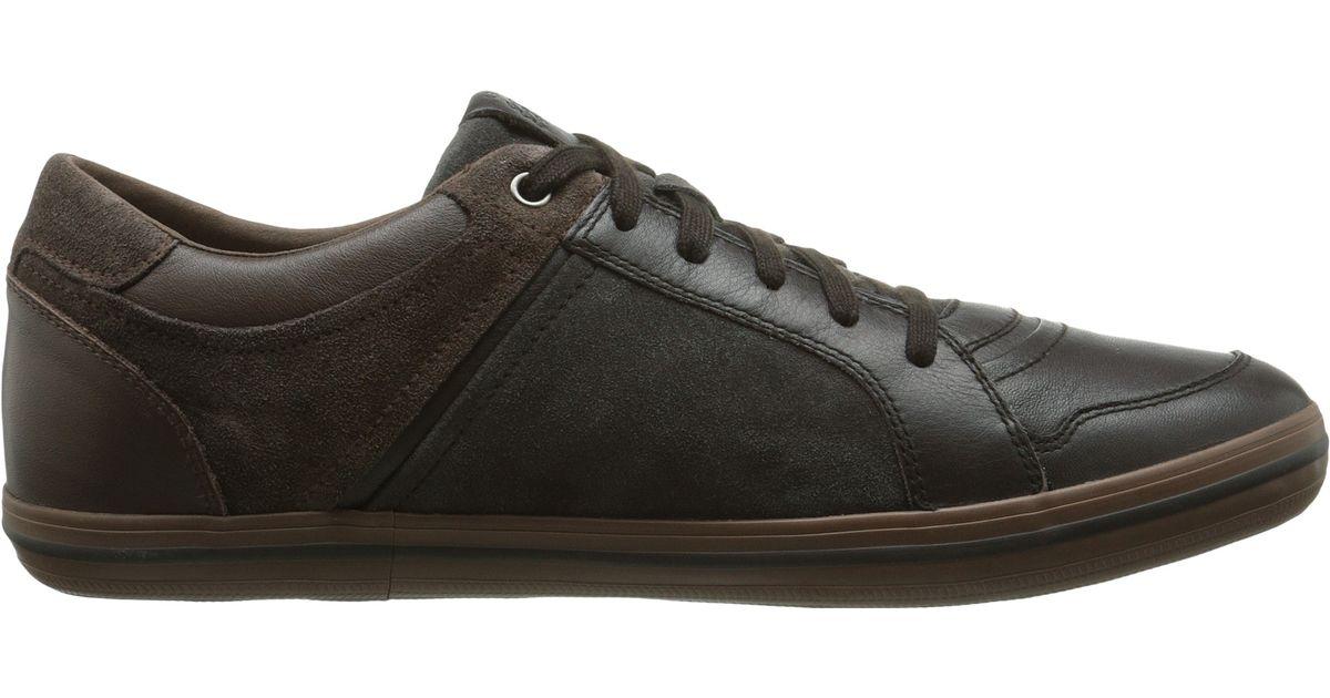 Mens U Box D Low-Top Sneakers, Brown Geox