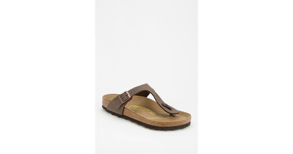 c4739dbdf Lyst - Birkenstock Gizeh Thong Sandal in Brown