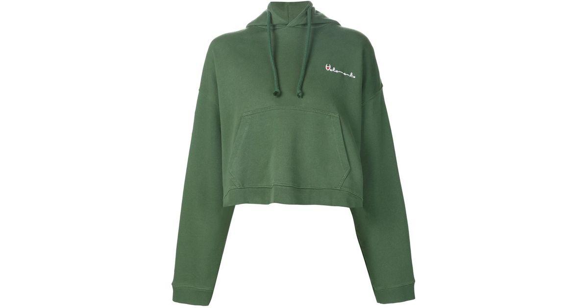 NEON green cropped hoodie – GET IT GRL  Green Cropped Hoodie