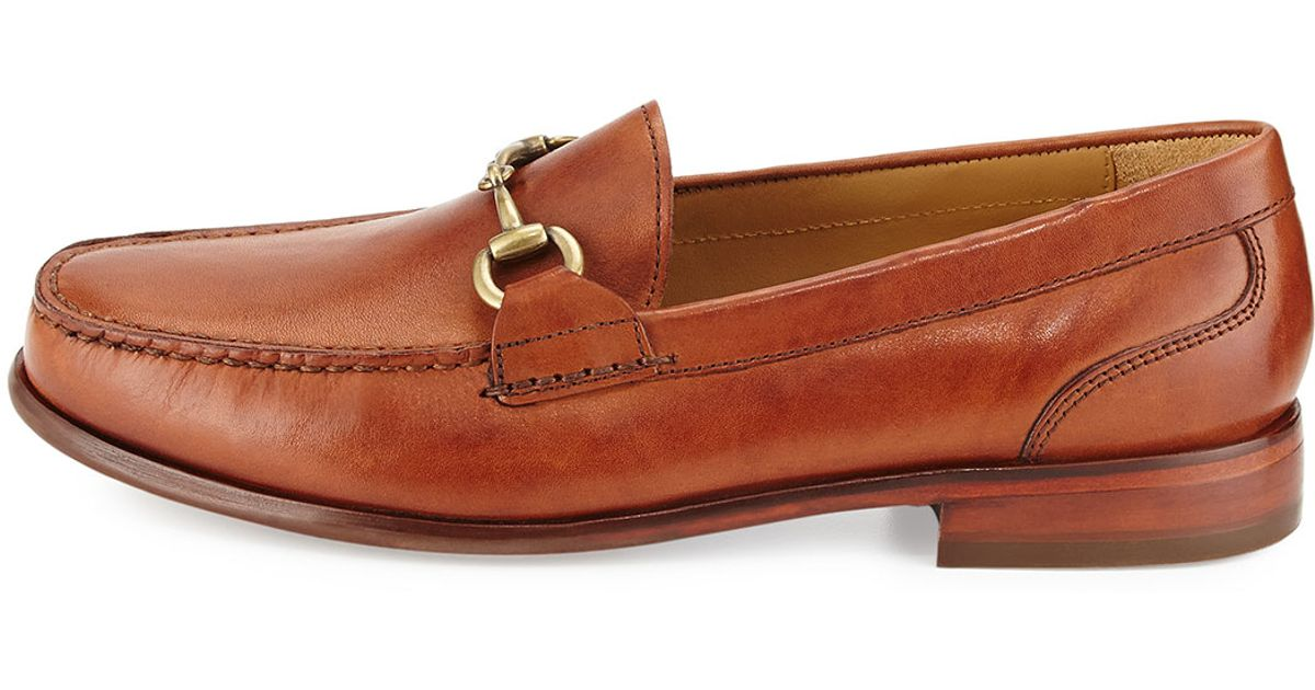 7381ab41d34 Lyst - Cole Haan Fairmont Horsebit Leather Loafer in Brown