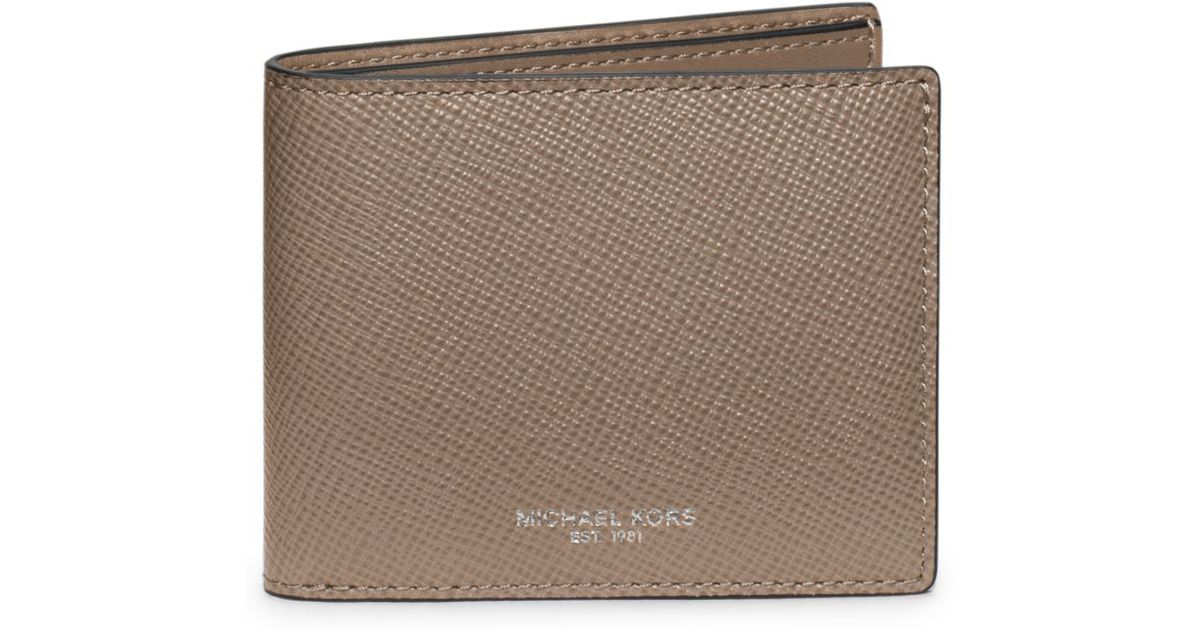 217cfa528abd Michael Kors Mens Harrison Slim Leather Billfold Wallet | Stanford ...