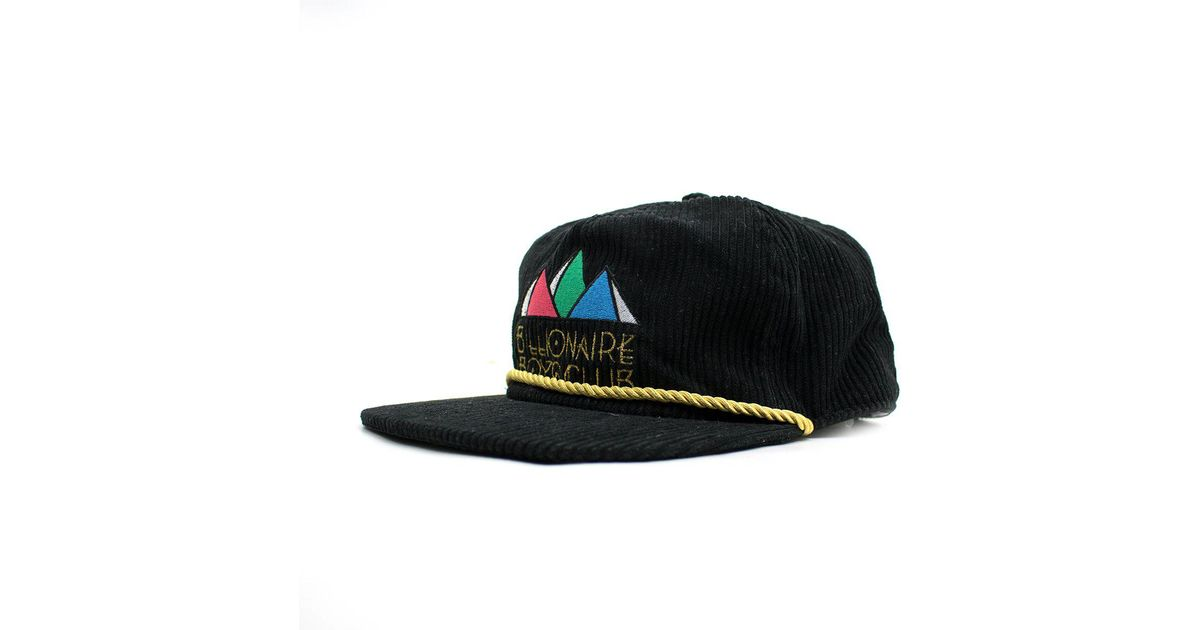 BBCICECREAM Pyramid Snapback in Black for Men - Lyst 0ce5ddcdc0d