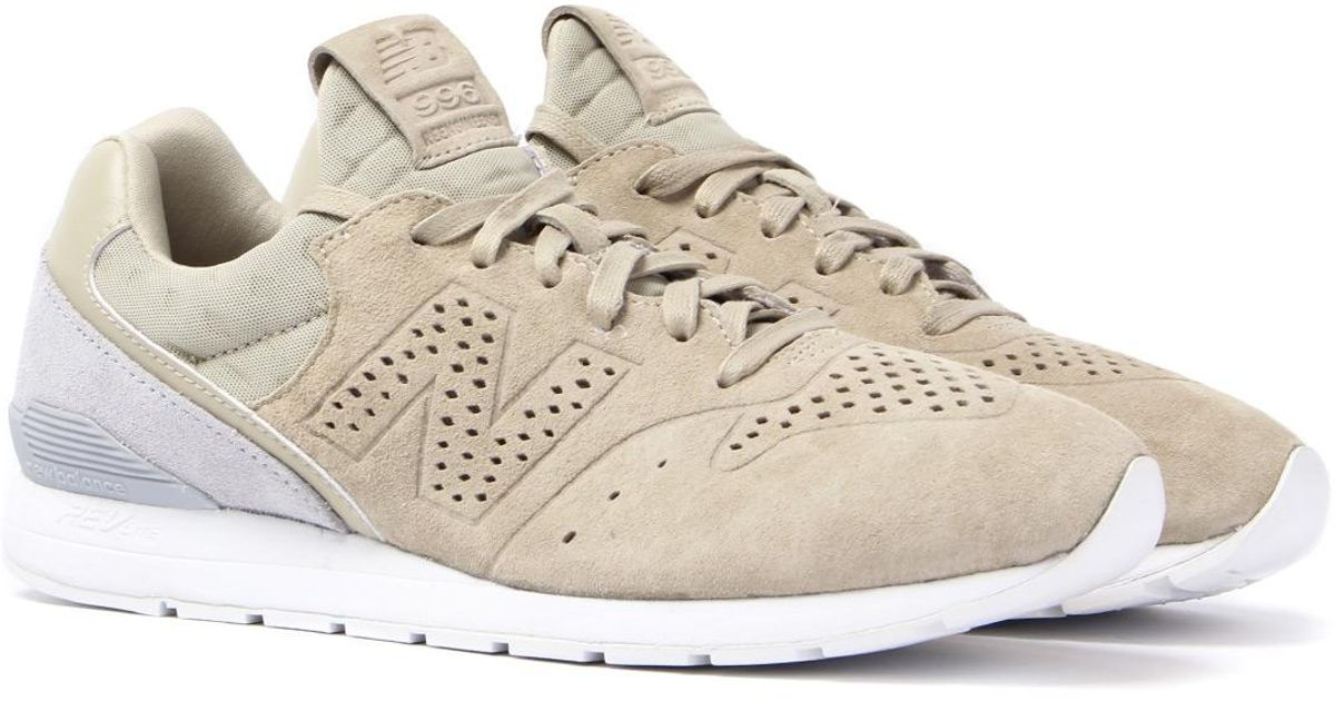 new balance 996 re-engineered beige