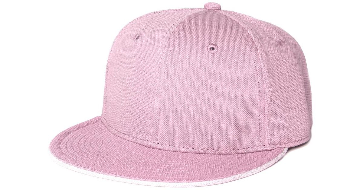 Lyst - Lacoste L!ive Lacoste L!ve Pastel Pink Baseball Cap in Pink for Men 4c6ab8beda4