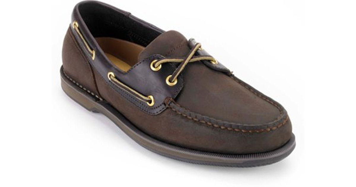Rockport Perth Boat Shoe Black