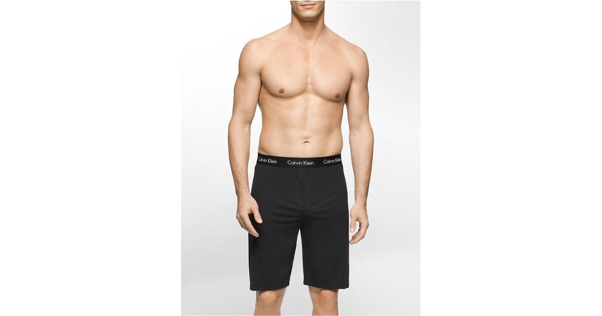 calvin klein underwear body modal short in black for men lyst. Black Bedroom Furniture Sets. Home Design Ideas