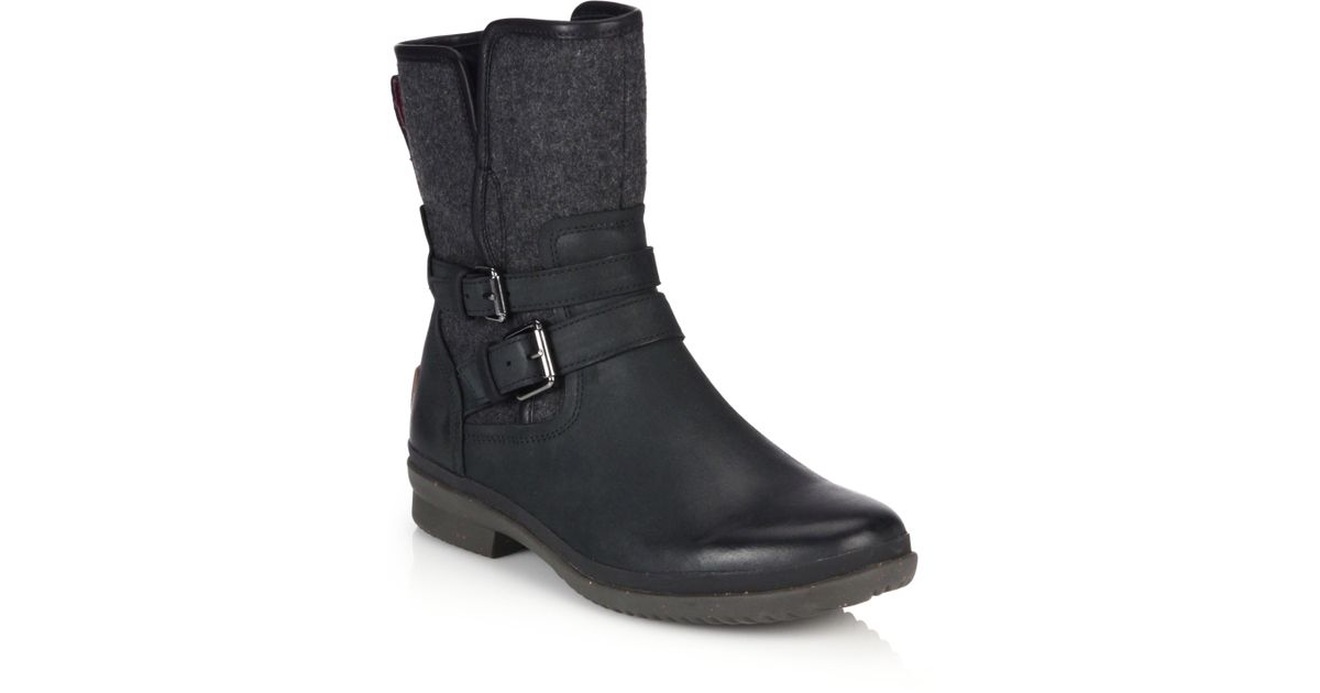 how to clean leather simmens uggs boots