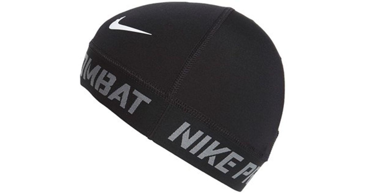 4b45688f97b Lyst - Nike  pro Combat  Skull Cap in Black for Men