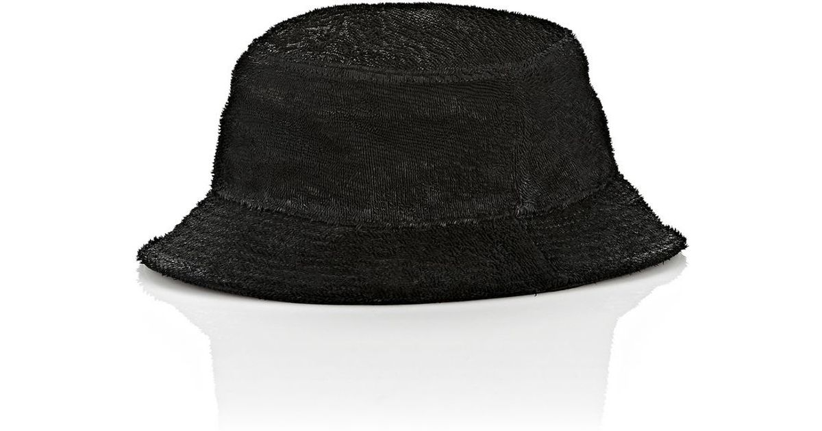 Lyst - Alexander Wang Leather Bucket Hat in Black for Men c0e2e6ac527