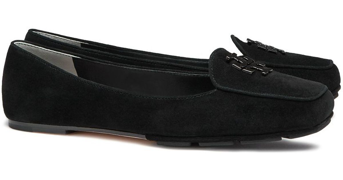 6de121df395b52 Lyst - Tory Burch Fitz Loafer in Black