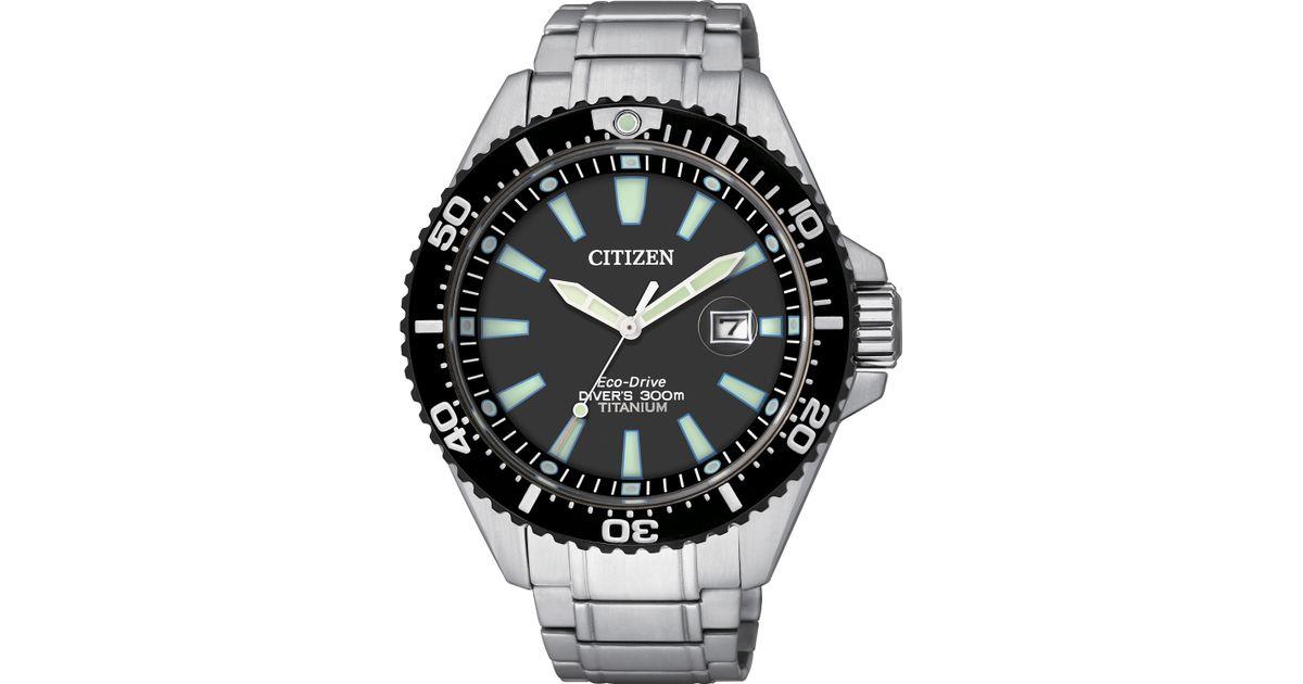 citizen bn0148 54e mens silver bracelet watch in metallic for men citizen bn0148 54e mens silver bracelet watch in metallic for men lyst