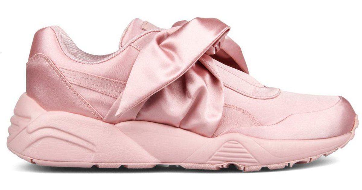 huge discount 61f57 43bc6 PUMA - Pink X Fenty Bow Sneaker - Lyst