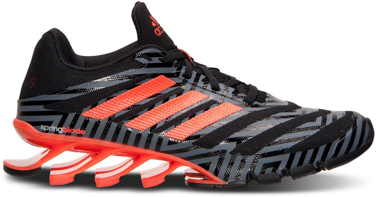 classic fit e0bab f2995 cheapest adidas springblade ignite red gold 8cd33 842c4