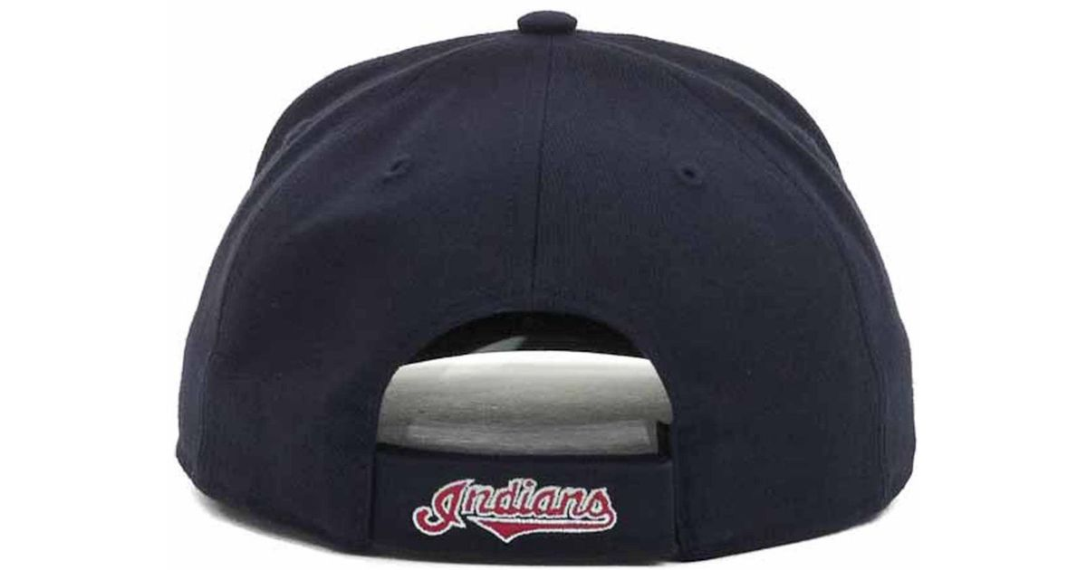 2885f0b152f Lyst - 47 Brand Cleveland Indians Mvp Cap in Blue for Men
