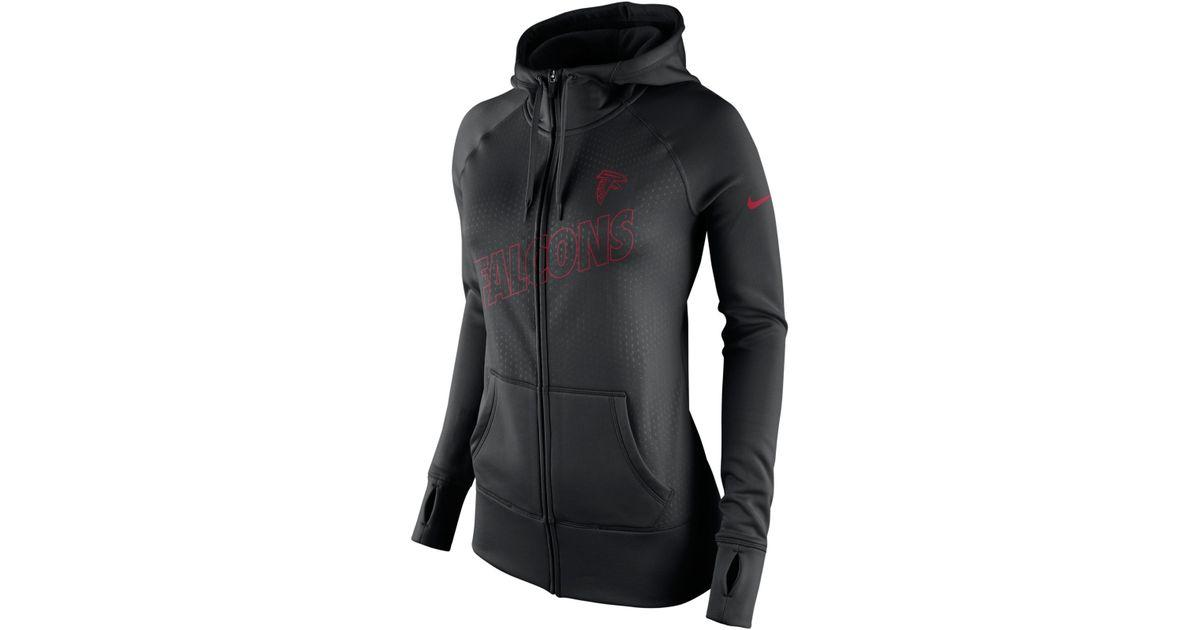 Lyst - Nike Women s Atlanta Falcons Stadium Ko Hoodie in Black e08893325c
