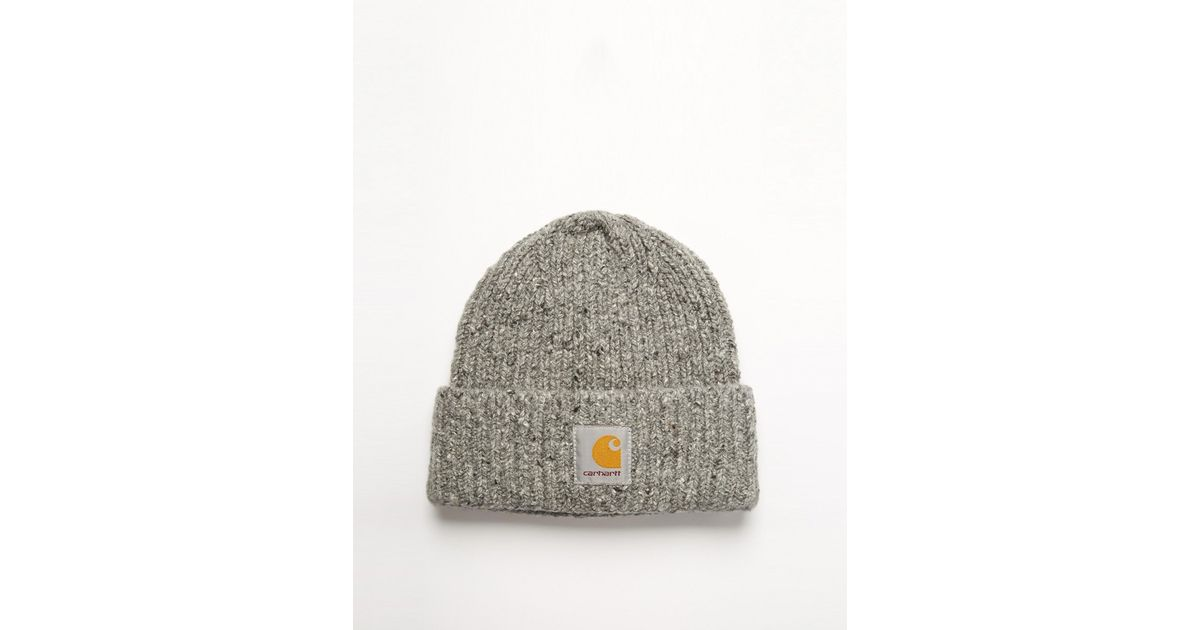 979fce66 Lyst - Carhartt Anglistic Beanie in Gray for Men