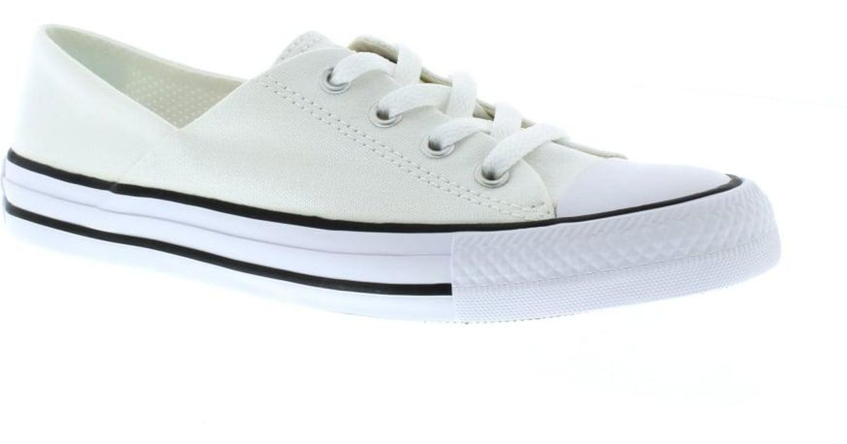 92340dd73d8 Lyst - Converse Chuck Taylor All Star Coral Oxford in White