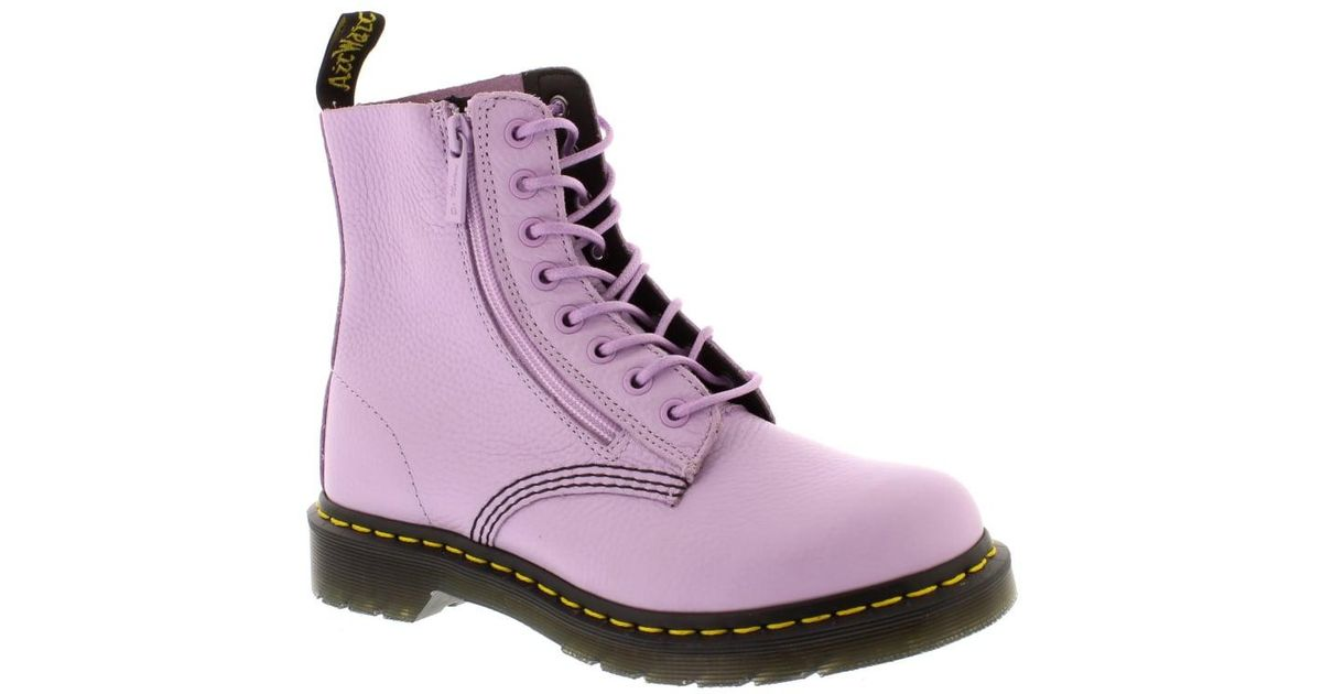 49147f730a7 Dr. Martens - Purple Pascal With Zip - Lyst