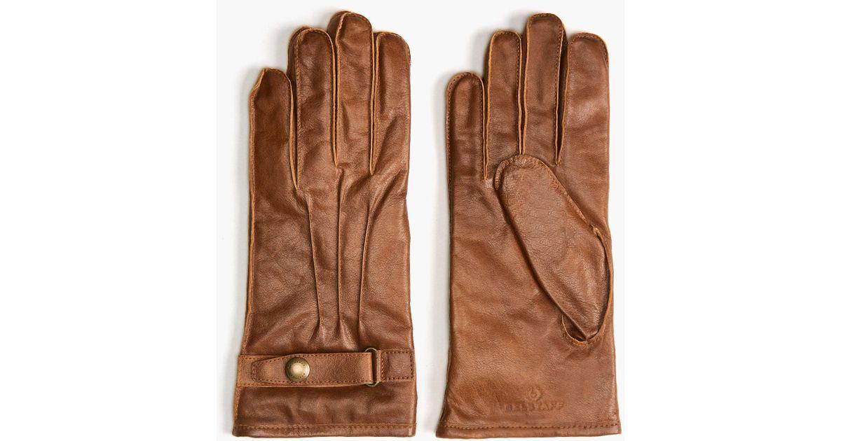 high quality best deals on first look Belstaff Multicolor Heyford Gloves for men